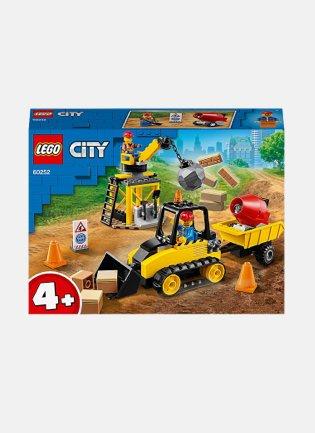 LEGO City Construction Bulldozer 60252 Building Set.