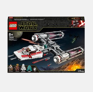LEGO Star Wars 75249 Resistance Y-Wing Starship.