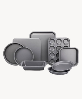 Non-stick ultimate baking tray 9 piece set