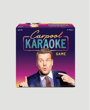 James Corden Carpool Karaoke board game