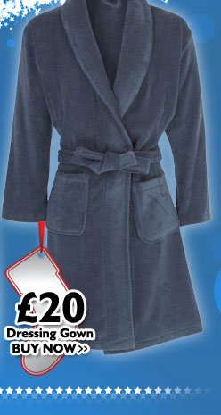 Dressing Gown £20