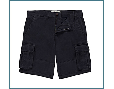 A pair of black shorts are the perfect holiday staple