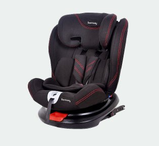 Harmony freestyle Deluxe Group carseat.