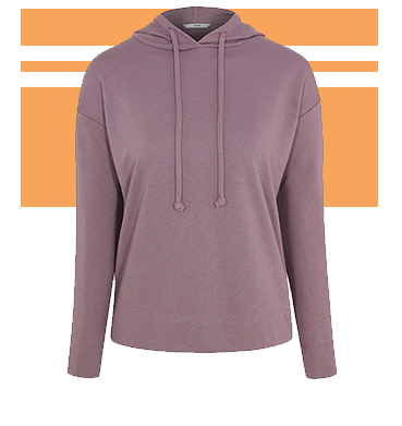 Tick the boxes for both casual and activewear with this hoodie