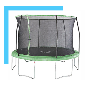 Keep them active with the Sportspower trampoline