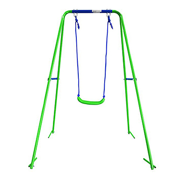 Ensure smiles all around with a fun swing