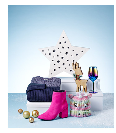 A selection of Christmas gifts available at George.com