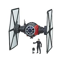 Star Wars Force Link First Order TIE Fighter & Figure